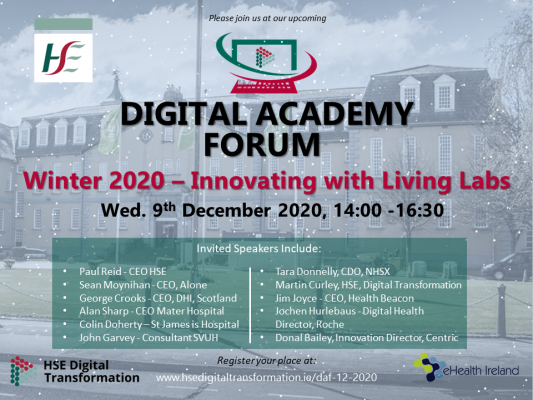 Lineup for Digital Academy Forum (DAF) Q4 2020